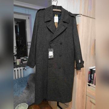 H&M x ERDEM płaszcz męski 100% wełniany