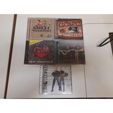 Płyty CD Golec Uorkiestra 5 sztuk