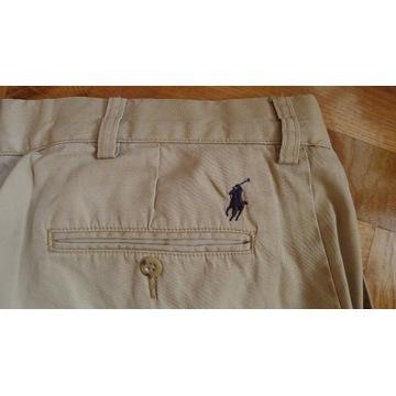 spodnie meskie RALPH LAUREN POLO chinosy r. 34/34