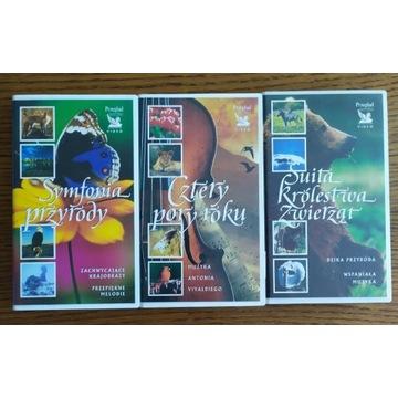 Koncerty przyrody - kolekcja 3 x VHS