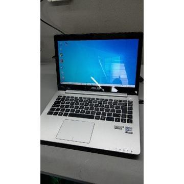 Laptop Asus vivobook s400c i5 3gen 500gb+24gb