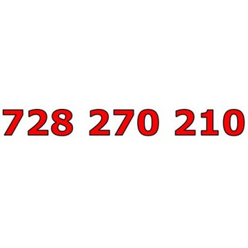 728 270 210 T-MOBILE ŁATWY ZŁOTY NUMER STARTER