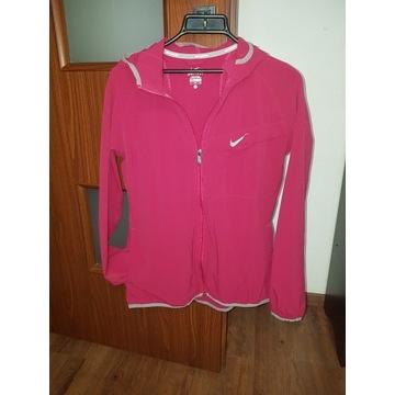Bordowa kurtka bluza sportowa NIKE RUNNING XL IDEA