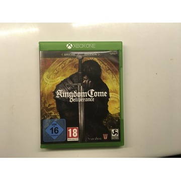 KINGDOM COME DELIVERENCE XBOX ONE PL ENG