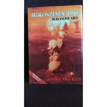 """""""Hiroszima 1945- Bosonogi Gen""""- manga"""