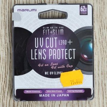 Marumi UV CUT L390 + Protect 62mm FIT + SLIM
