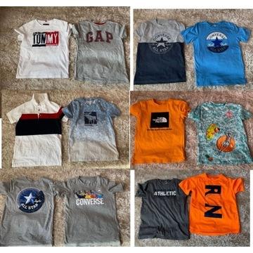 Koszulka t-shirt converse hilfiger abercrombie gap
