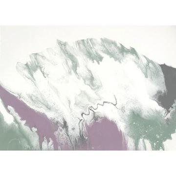 Oryginalny Obraz Abstrakcja na płótnie 70 x 50 cm