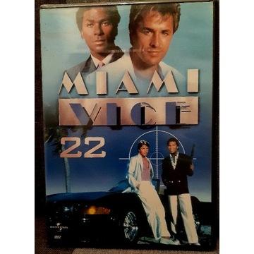 Miami Vice 22 DVD odcinek 43 i 44