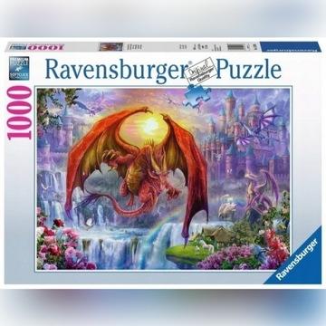 Puzzle Smocze królestwo 1000 el. Ravensburger