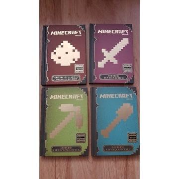 Minecraft poradniki - zestaw kolekcjonerski
