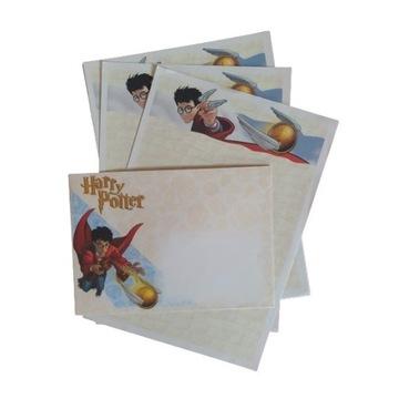 Papeteria Harry Potter papier listowy koperty