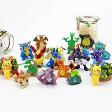 Zestaw figurek Pokemon. Paczkomat gratis!