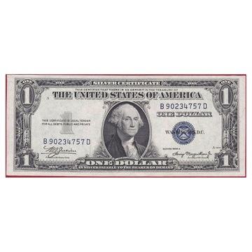 USA 1 DOLAR SILVER CERTIFICATE 1935A UNC