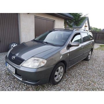 Toyota Corolla E 12 2003 r. Benzyna + Gaz