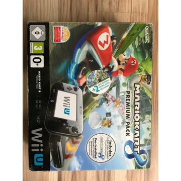 Konsola nintendo wii u Mario kart edtion + gra