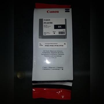 Tusz Oryginalny CANON PFI-207 BK Czarny