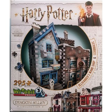 Harry Potter Diagon Alley Puzzle 3D, Wrebbit 3D