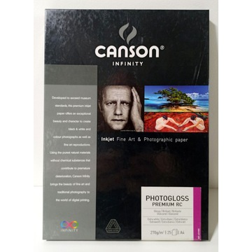 Canson Infinity PhotoGloss Premium RC 270g - A4, 2
