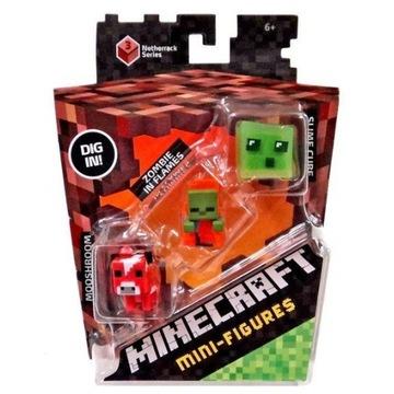 Mattel Minecraft Zestaw Figurek 3-Pak Seria 3