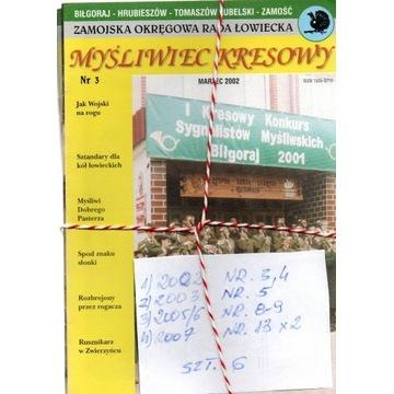 2002/7,MYŚLIWIEC KRESOWY,N-RY JAK NA SKANIE,SZT.6