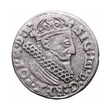 ZYGMUNT III WAZA - TROJAK 1624 KRAKOW