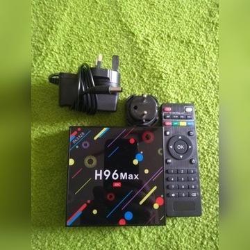 H96 Max+ SMART TV BOX Android 4K 4GB 32GB