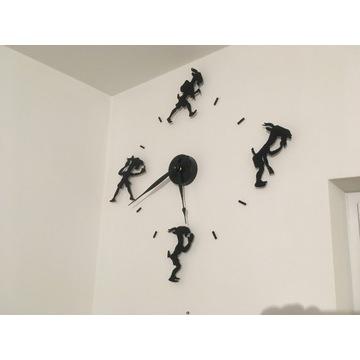 Zegar na ścianę - Koziołek Matołek - czarny