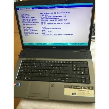Laptop Acer Aspire 7540