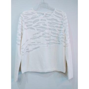 COS sweter sweterek ecru kremowy r 36 38