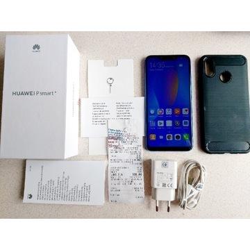 Huawei P smart+,ładowarka samochodowa, idealny