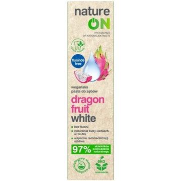 NATUREON dragon fruit white wegańska pasta