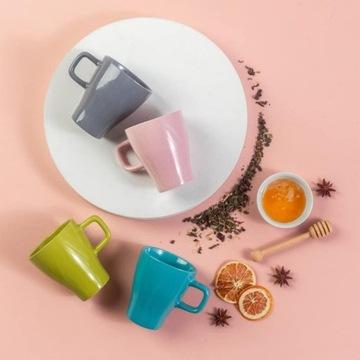 Kubki ceramiczne komplet dla rodziny 4 szt OKAZJA!
