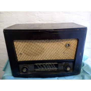 Radio lampowe Preludium 6272 gramofon-Unitra DIORA
