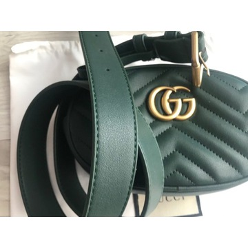 Torebka nerka saszetka styl Gucci pasek