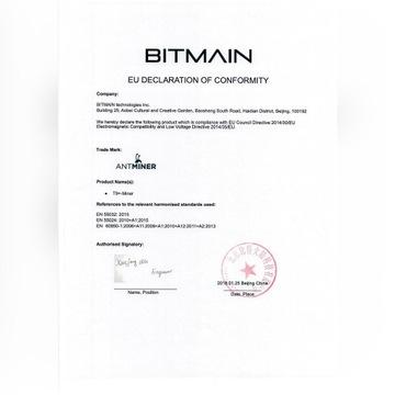Bitmain Antminer S9 14 TH/s
