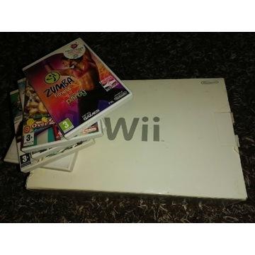 Nintendo Wii konsola z grami Stan idealny jak NOWA