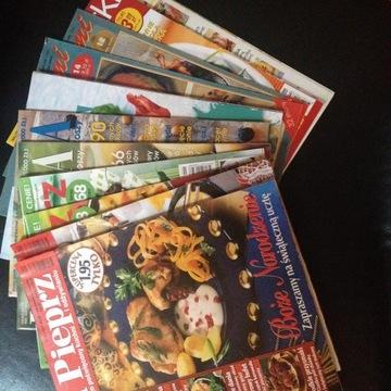 Gazety o tematyce kulinarnej.
