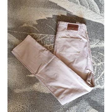 spodnie Zara bawelna pas 80