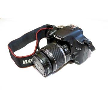 Canon EOS 500D + 2 obiektywy + dodatki