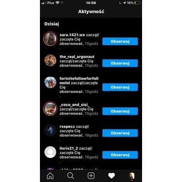 Bot od nieskończonych followow na instagramie
