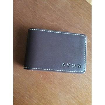 Etui na karty wizytówki wizytownik Avon (16 kart)