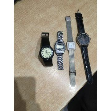 Cztery zegarki naręczne Quartz, Royce, Perfect