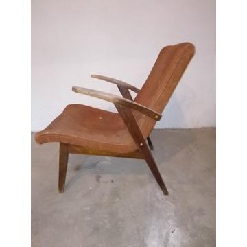 Fotel 'Puchala'loft prl vintage