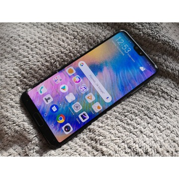 Huawei P20 PRO 128gb/6gb zbita szybka! 100% sprawn