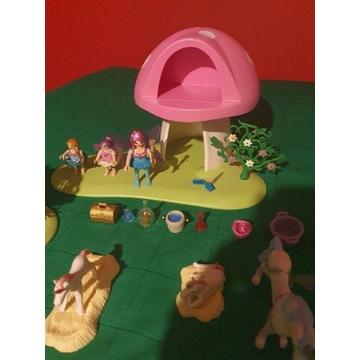 Playmobil wróżki z lasu, grzybek