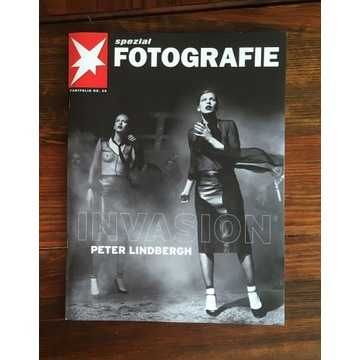"""Peter Lindbergh """"Invasion"""" Portfolio 36x28 cm"""