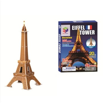 3D zestaw puzzli Model