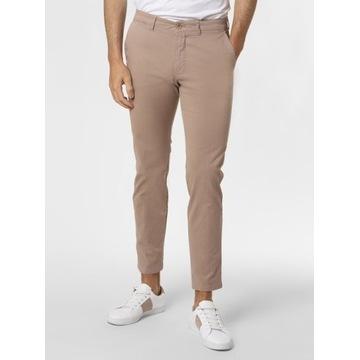 """Drykorn Męskie spodnie chino """"Mad"""" 34/34 beżowe"""