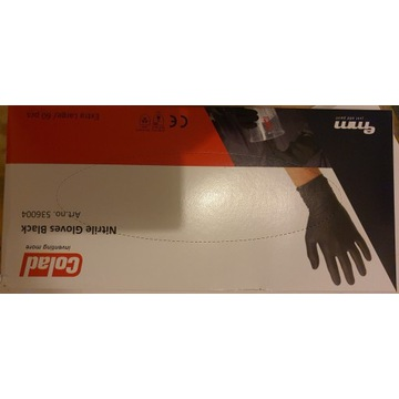 Rękawiczki nitryleks XL 60 szt.